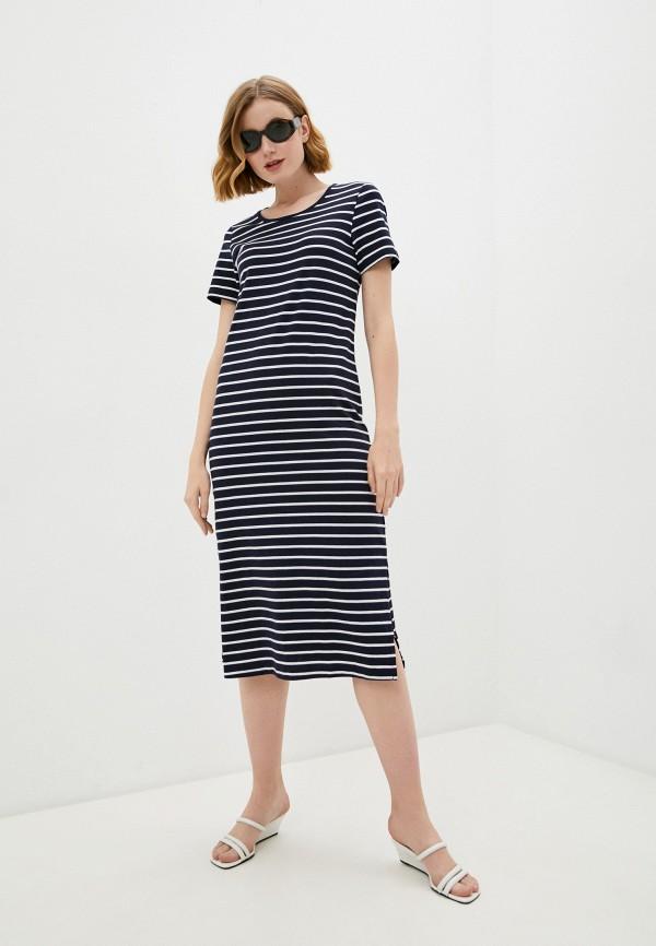 женское платье-футболки baon, синее