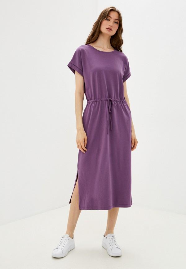 женское платье-футболки baon, фиолетовое