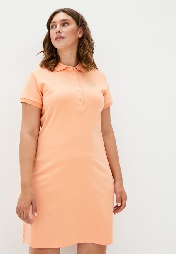 женское платье-футболки baon, оранжевое