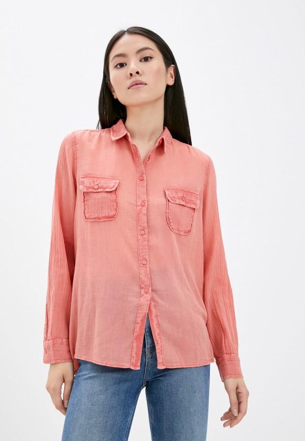 Рубашка Mavi розового цвета