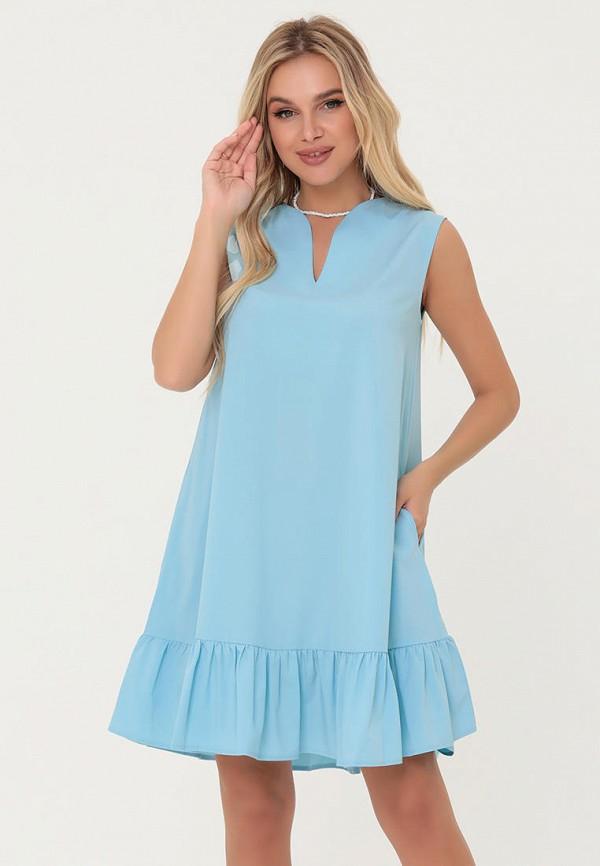 женское повседневные платье magnet, голубое