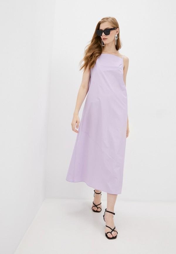 женский сарафан totti, фиолетовый