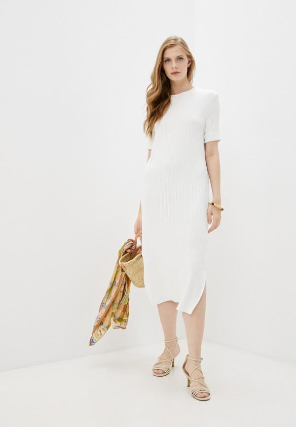 женское платье-свитеры totti, белое