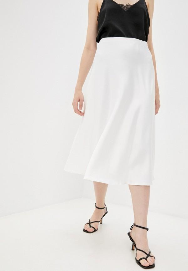 женская юбка-трапеции totti, белая