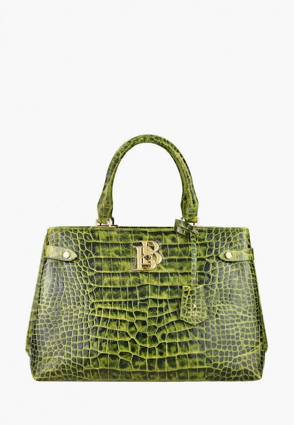 женская сумка с ручками bb1, зеленая