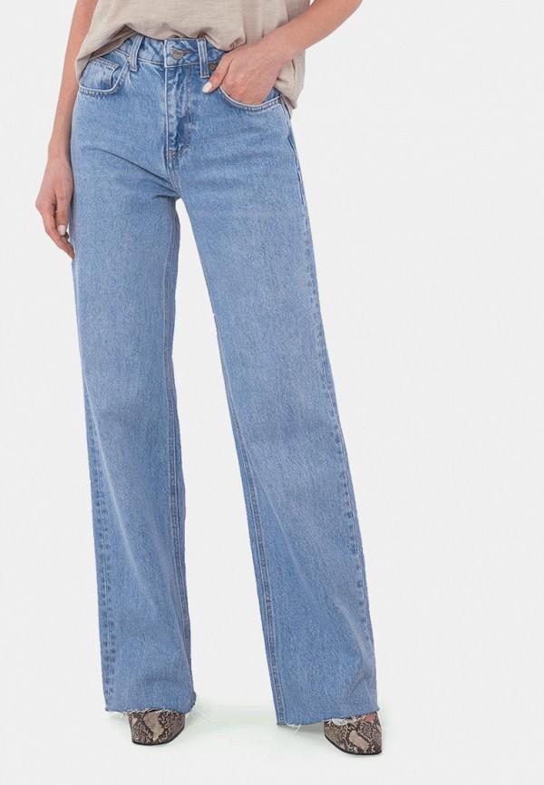 женские джинсы клеш mr520, голубые