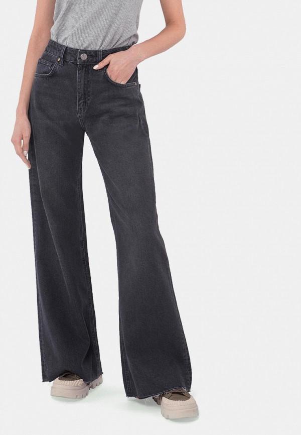 женские джинсы клеш mr520, черные