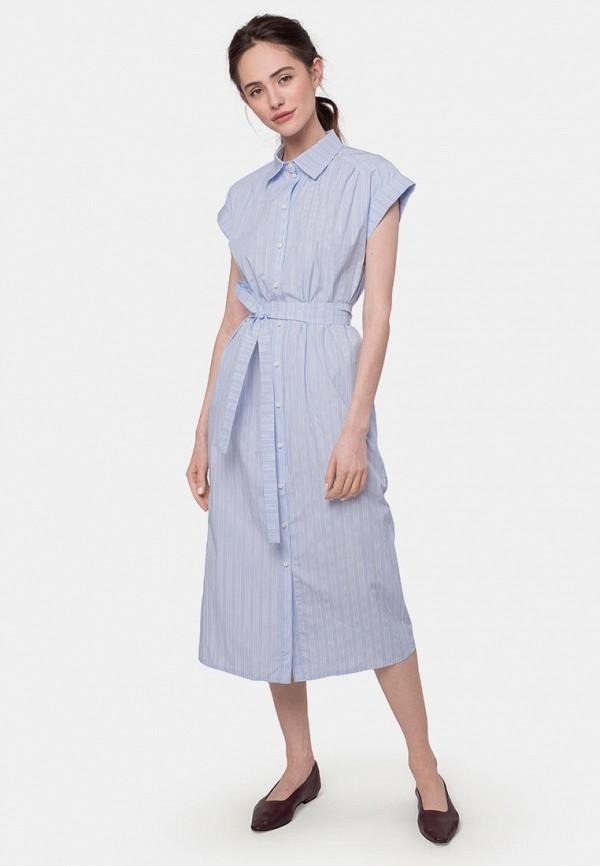 женское платье mr520, голубое
