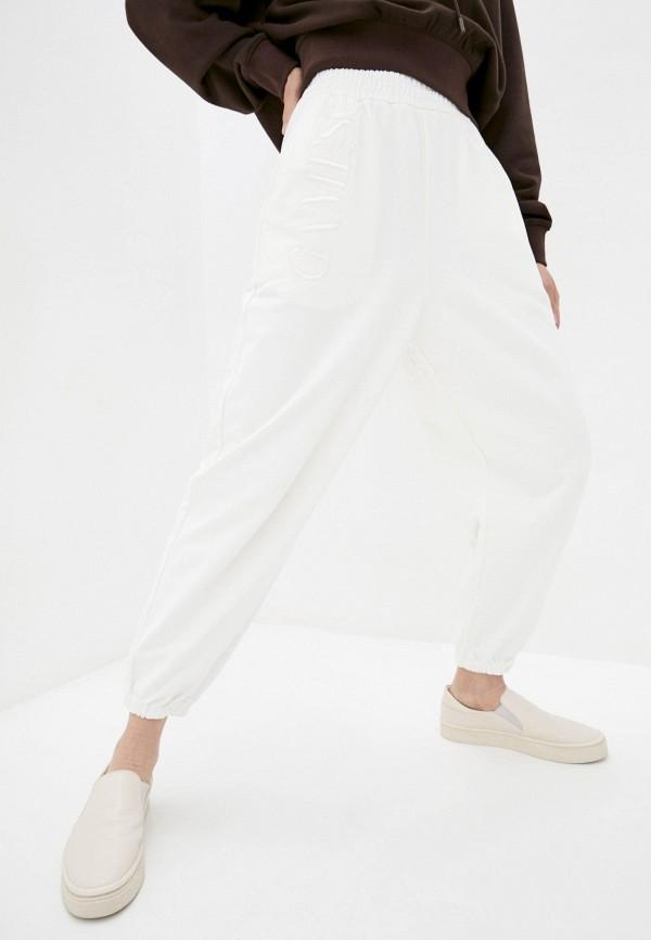 женские спортивные брюки miss sixty, белые