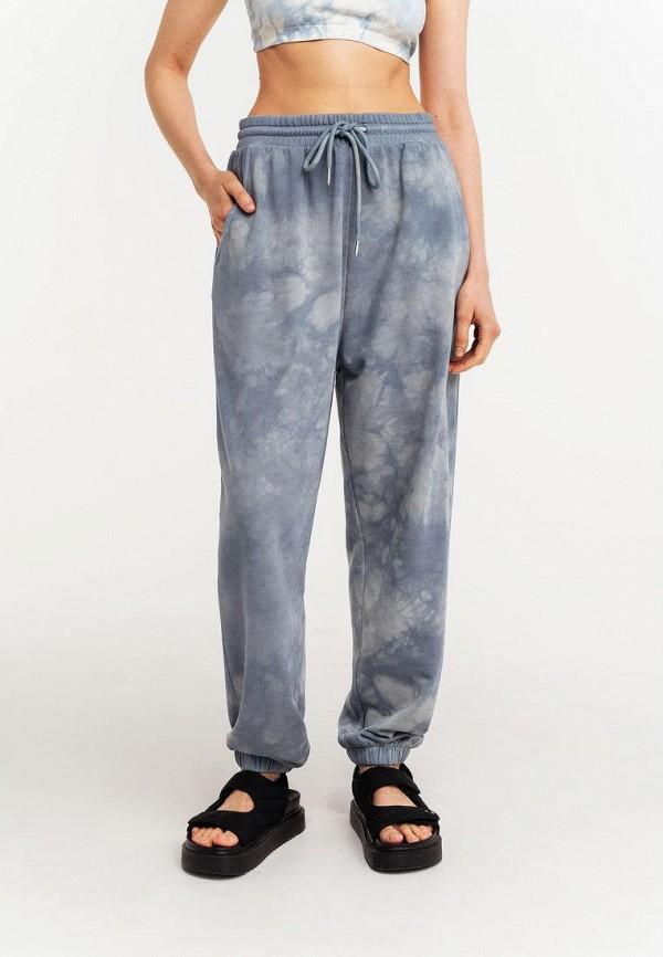 женские повседневные брюки befree, голубые