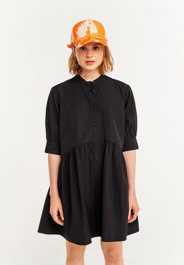 женское платье-рубашки befree, черное