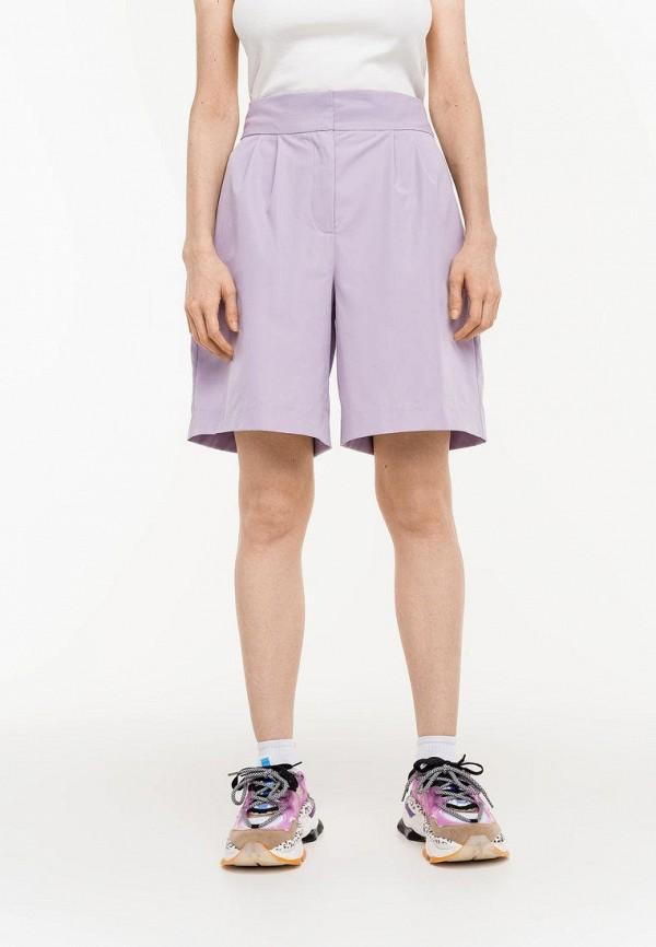 женские повседневные шорты befree, фиолетовые