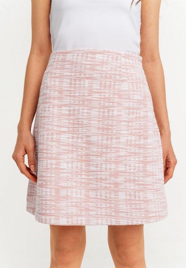 женская юбка-трапеции befree, розовая