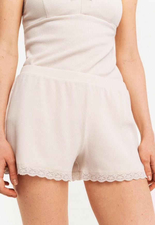 женские повседневные шорты befree, бежевые