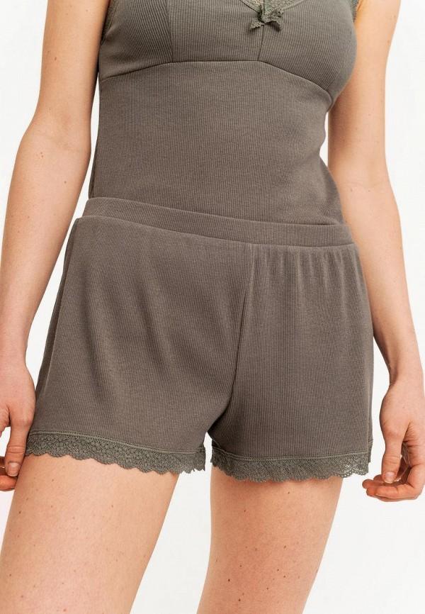 женские повседневные шорты befree, хаки