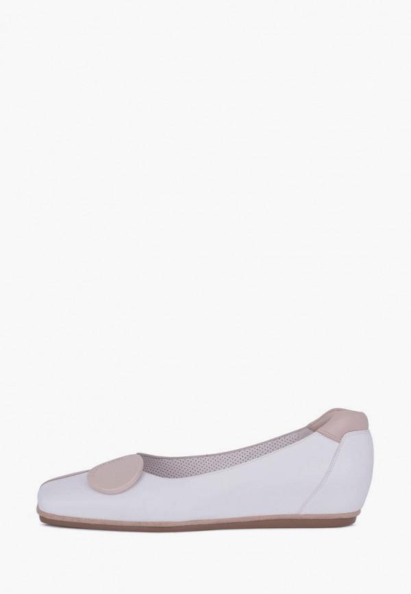 женские балетки tj collection, бежевые