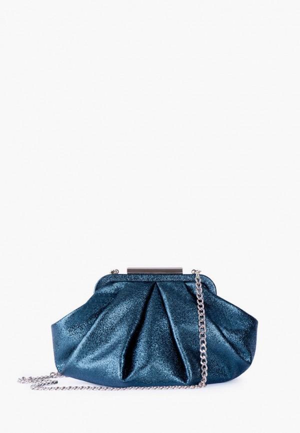 женская сумка через плечо tj collection, бирюзовая