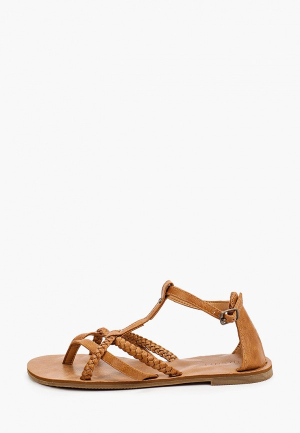 женские сандалии rip curl, коричневые