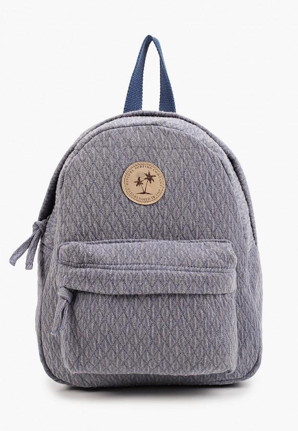 женский рюкзак rip curl, голубой