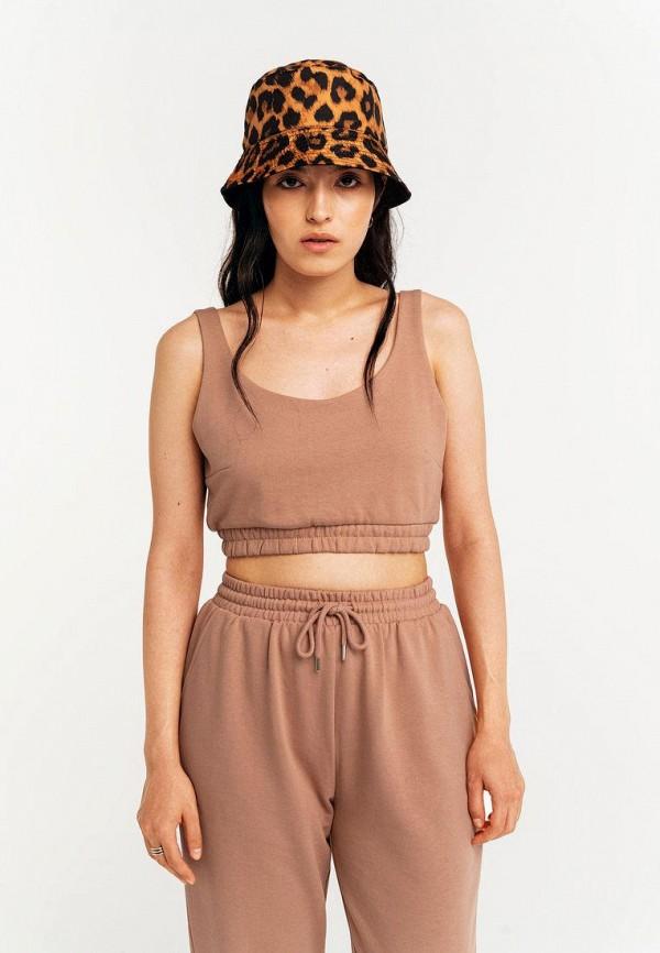 женский спортивный костюм befree, коричневый