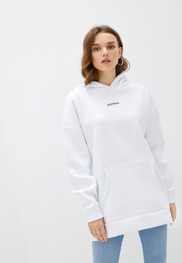 женские худи aussie wear, белые