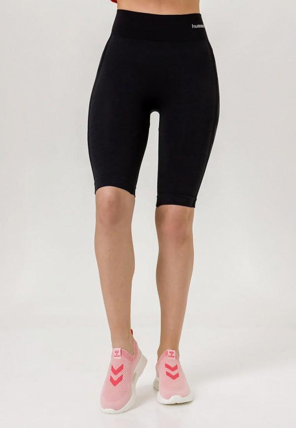 женские спортивные шорты hummel, черные