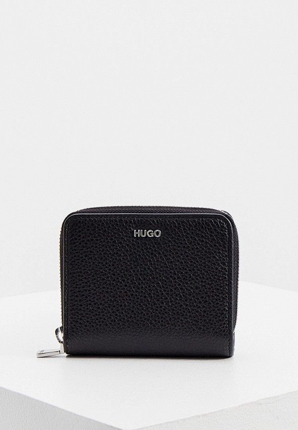 женский кошелёк hugo, черный