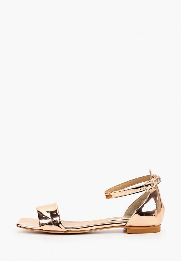 женские сандалии marco bonne', золотые