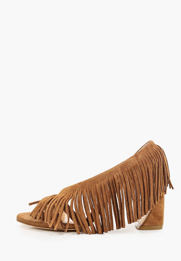 женские босоножки marco bonne', коричневые