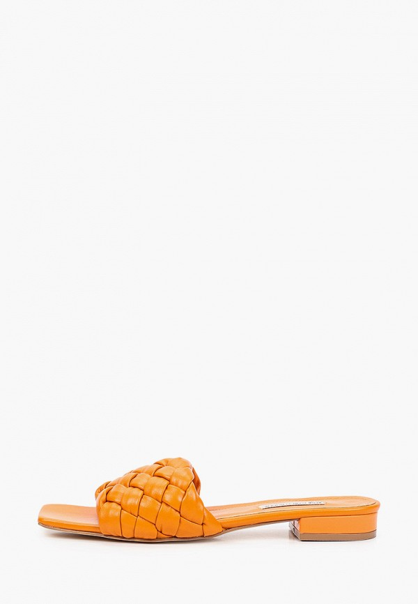 женское сабо marco bonne', оранжевое