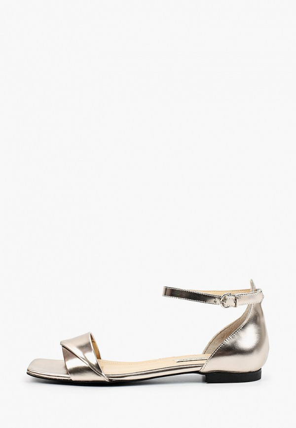 женские сандалии marco bonne', серебряные