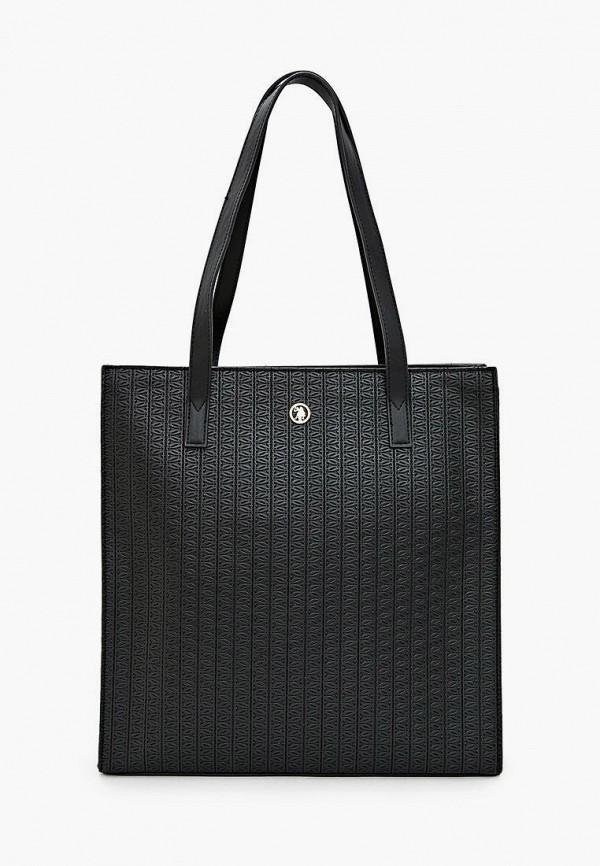 женская сумка u.s. polo assn, черная