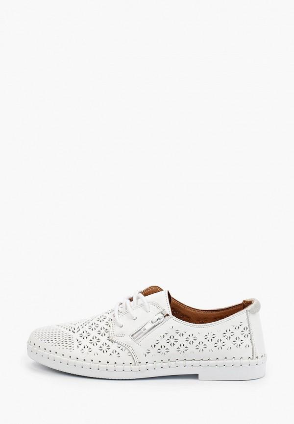 женские низкие ботинки love ballerin's, белые