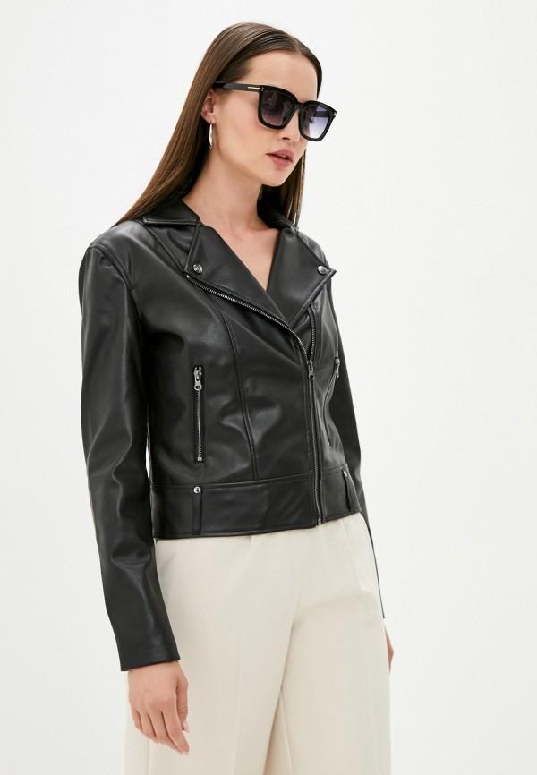 женская куртка косухи love republic, черная