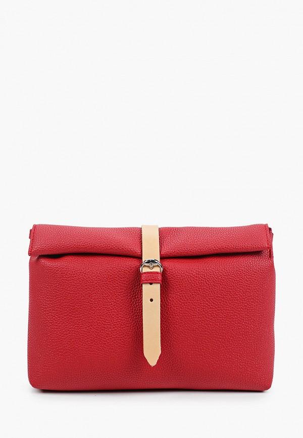 женская сумка через плечо kokosina, красная