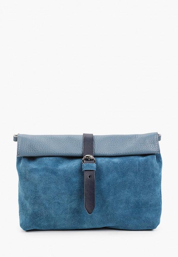 женская сумка через плечо kokosina, синяя