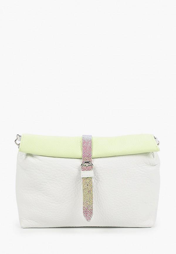 женская сумка через плечо kokosina, разноцветная