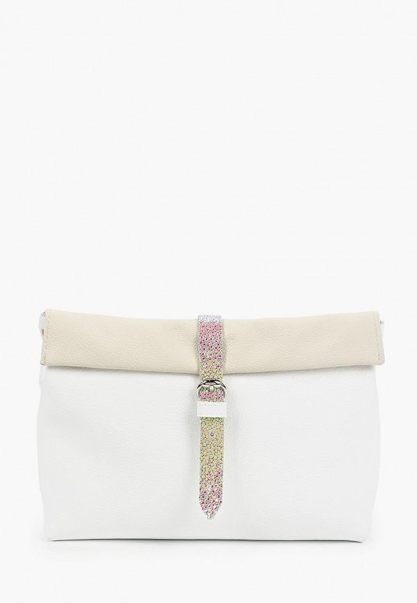 женская сумка через плечо kokosina, белая