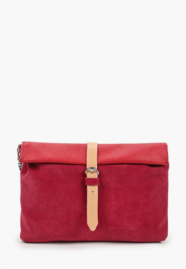 женская сумка через плечо kokosina, бордовая