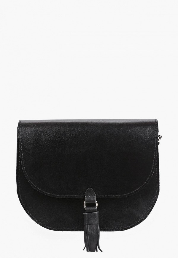 женская сумка через плечо kokosina, черная