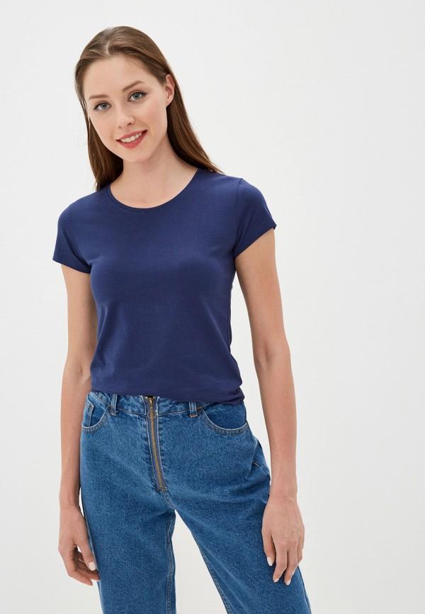 женская футболка vitacci, синяя