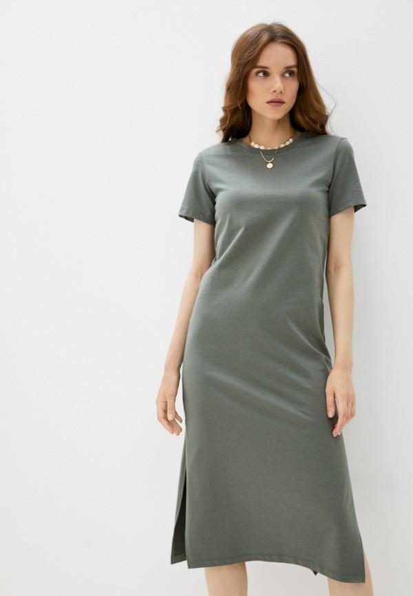 женское платье-футболки mark formelle, зеленое