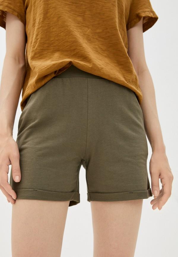 женские спортивные шорты mark formelle, хаки