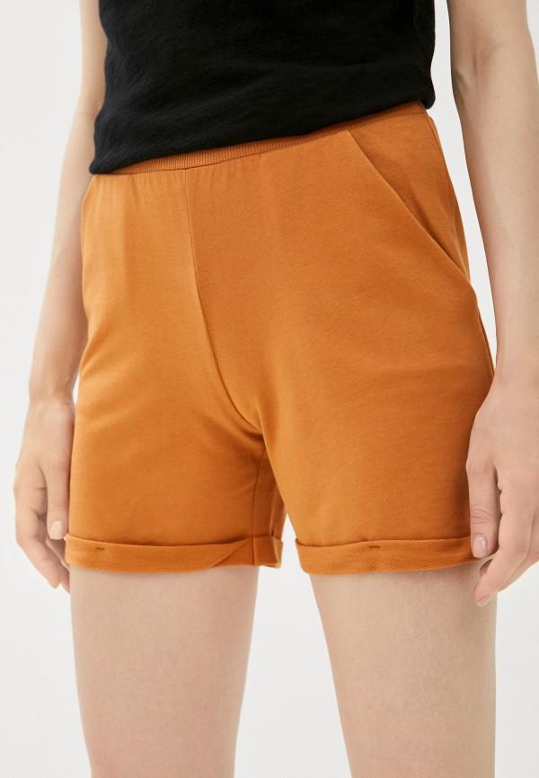 женские повседневные шорты mark formelle, коричневые