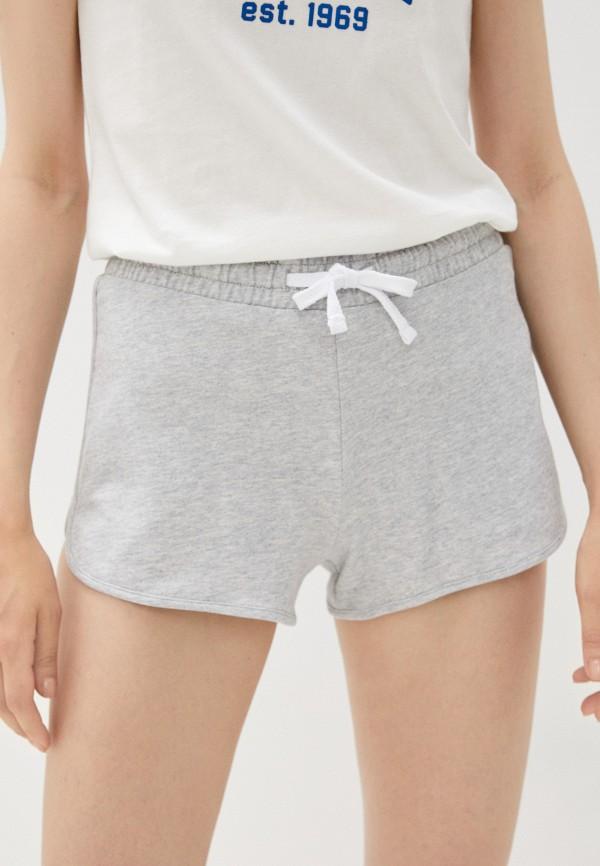 женские спортивные шорты mark formelle, серые