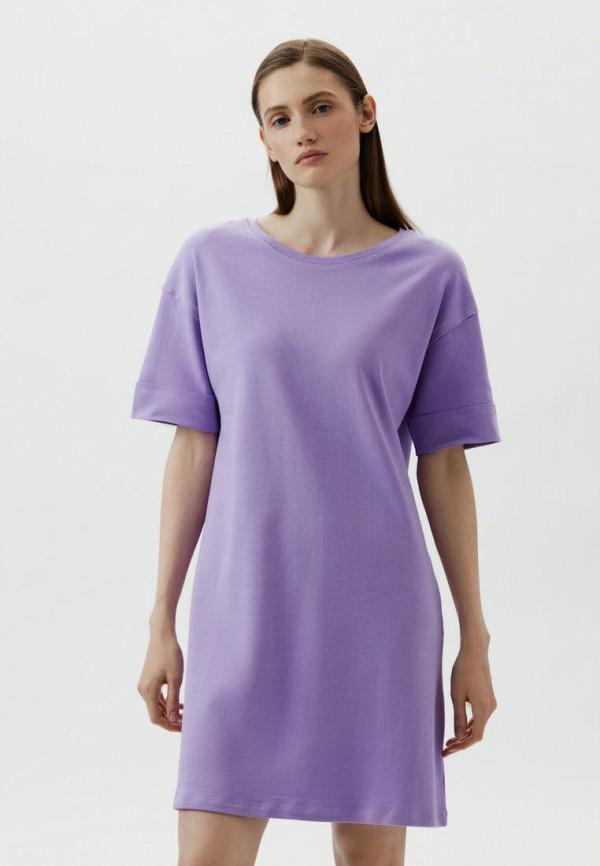 женское платье-футболки antiga, фиолетовое