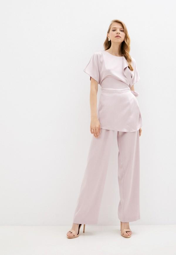 женский костюм seam, розовый