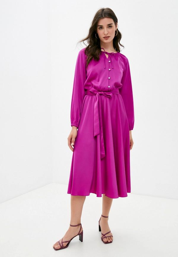 женское вечерние платье seam, фиолетовое