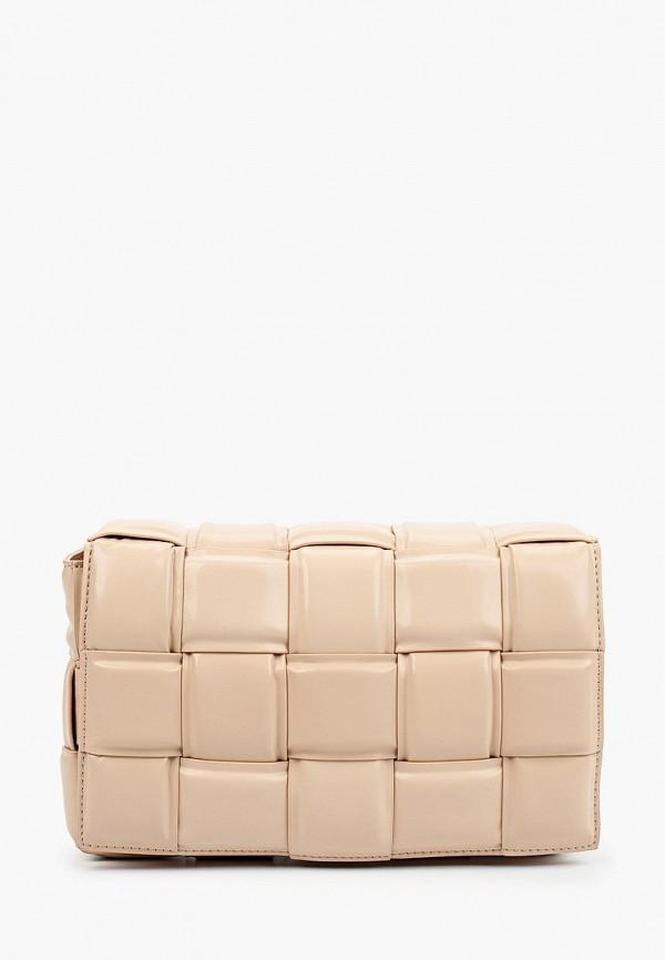 женский кошелёк через плечо marco bonne', розовый