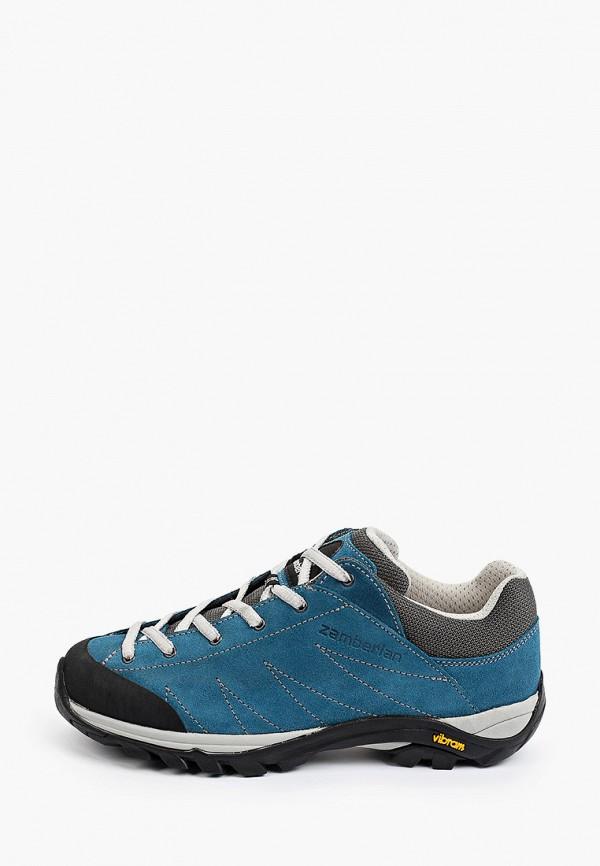 женские ботинки zamberlan, синие